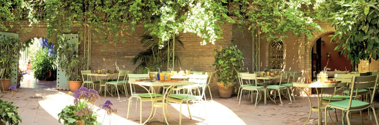 Café Bousafsaf du Jardin Majorelle